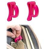 Bobino KECL2RU Schlüsselhaken, 2-er Pack Rubinfarben