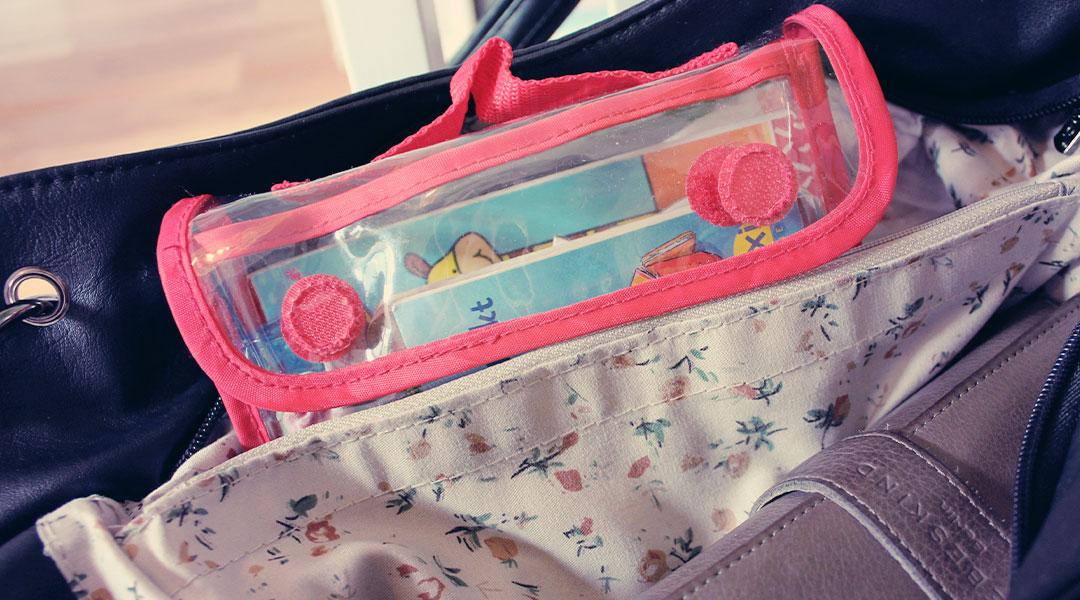 Beschäftigung für die Handtasche