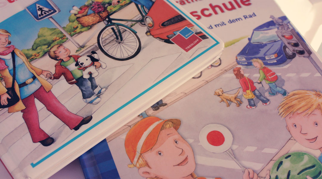 Fahrradsicherheit für Kinder mit Link zum Gratis eBook