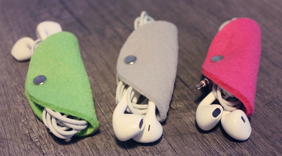 DIY – Total einfacher Kopfhörer-Organizer