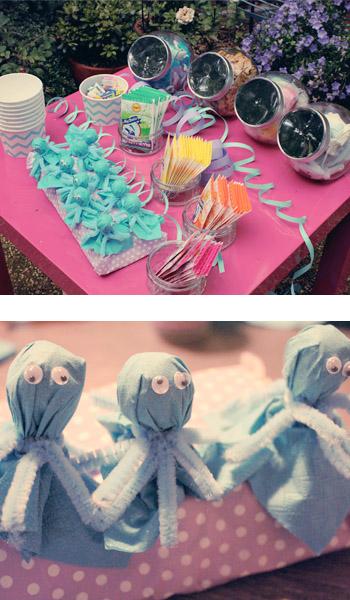 Unterwasserparty-Candybar