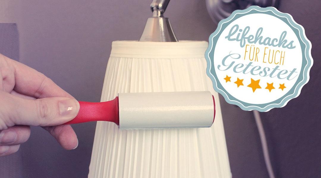haushaltsmuffelkurze tipps lampenschirme aus stoff reinigen haushaltsmuffel. Black Bedroom Furniture Sets. Home Design Ideas