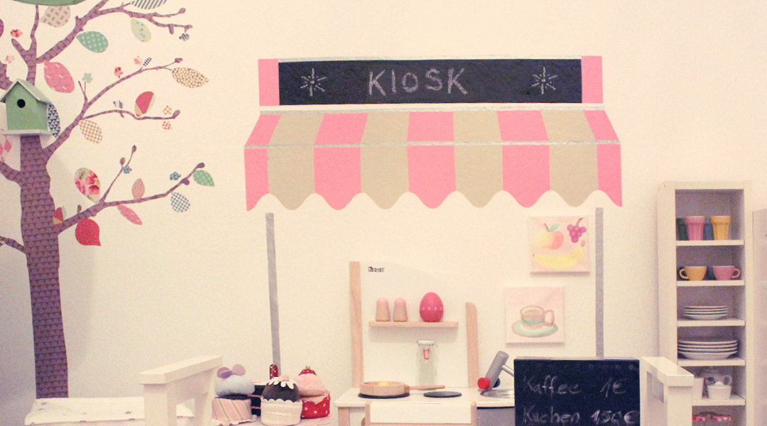 DIY Kinder Kaufladen für die Wand + Download