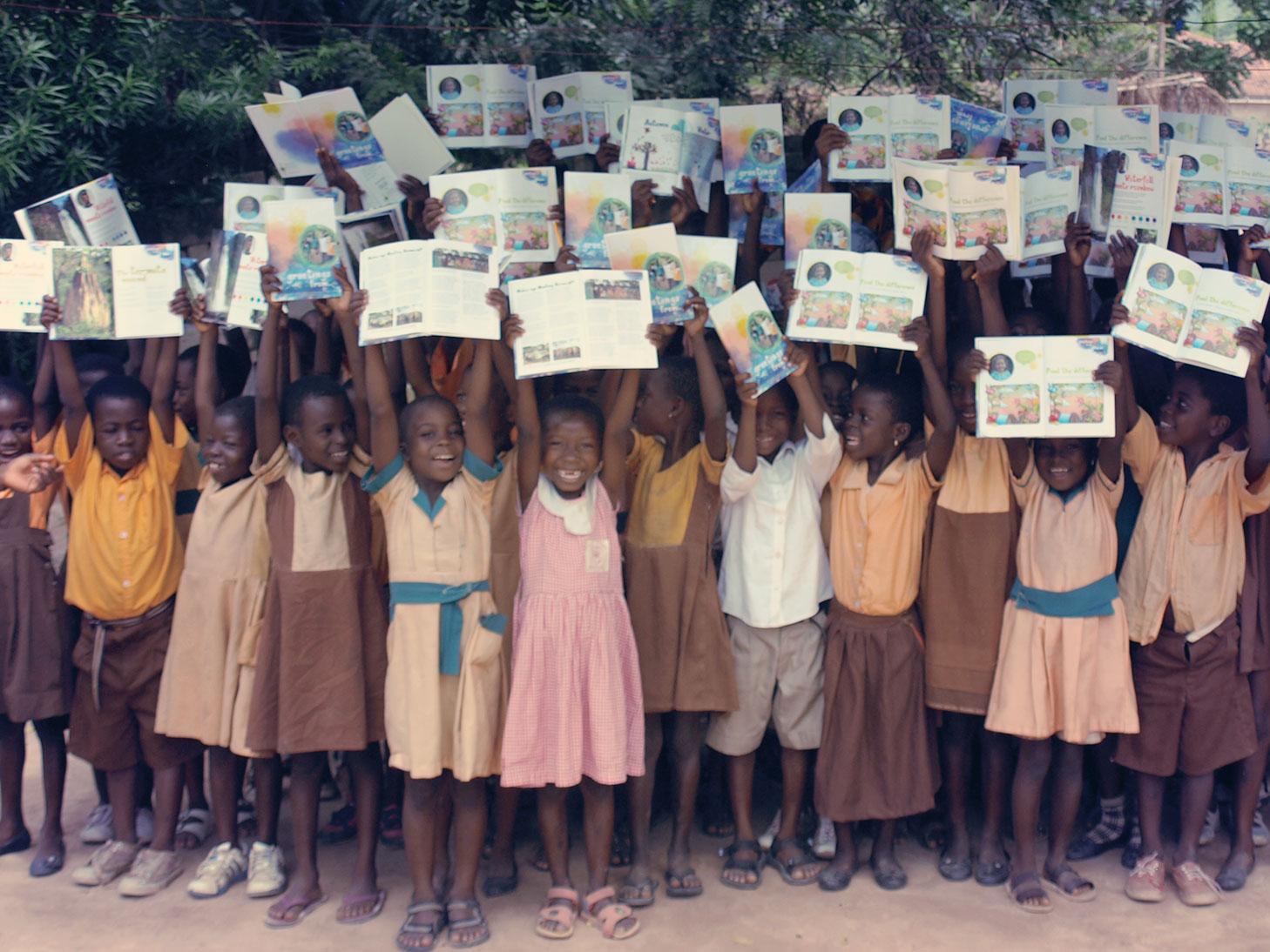 Ghana-Buchprojekt